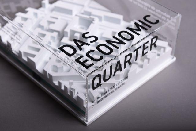 Bergbrand Economic Quarter 3D Modell