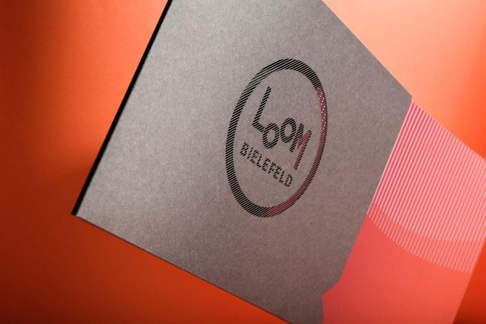 Bergbrand Loom Bielefeld Broschüre