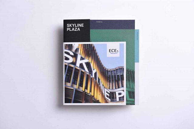 Bergbrand Skyline Plaza Broschüre